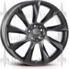 Lorinser RS8 felg svart