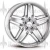 Lorinser RS9 felg sølv