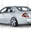W211 Lorinser look koffertlokkspoiler